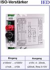 IED-Hutschienen-Module, IED-Messverstärker im Hutschienengehäuse HSM Optokoppler Isolationsverstärker Isolierverstärker