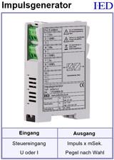 IED-Hutschienen-Module, IED-Messverstärker im Hutschienengehäuse HSM, Peak-Generator