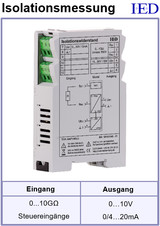 IED-Hutschienen-Module, IED-Messverstärker im Hutschienengehäuse HSM Isolationsverstärker ISO-Verstärker