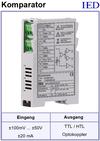 IED-Hutschienen-Module, IED-Messverstärker im Hutschienengehäuse HSM Schaltschwelle Komparatorverstärker