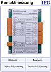 IED-Hutschienen-Module, IED-Messverstärker im Hutschienengehäuse HSM Übergangswiderstand Schaltermessung
