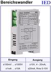 IED-Hutschienen-Module, IED-Messverstärker im Hutschienengehäuse HSM Signalanpassung Anpassverstärker