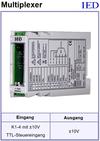 IED-Hutschienen-Module, IED-Messverstärker im Hutschienengehäuse HSM Demultiplexer