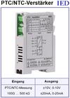 IED-Hutschienen-Module, IED-Messverstärker im Hutschienengehäuse HSM PTC-Temperaturmessung