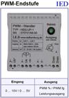 IED-Hutschienen-Module, IED-Messverstärker im Hutschienengehäuse HSM PWM-Verstärker
