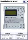 IED-Hutschienen-Module, IED-Messverstärker im Hutschienengehäuse HSM PWM-Generieren