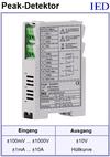 IED-Hutschienen-Module, IED-Messverstärker im Hutschienengehäuse HSM Hüllkurvengenerator Spitzenwerterkennung