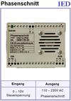 IED-Hutschienen-Module, IED-Messverstärker im Hutschienengehäuse HSM Phasenanschnittsteuerung