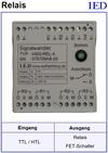 IED-Hutschienen-Module, IED-Messverstärker im Hutschienengehäuse HSM Schalterausgang FET-Ausgang