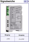 IED-Hutschienen-Module, IED-Messverstärker im Hutschienengehäuse HSM Signal-Splitter Signalverteiler