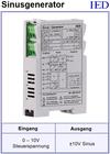 IED-Hutschienen-Module, IED-Messverstärker im Hutschienengehäuse HSM Dreieck-Generator Rechteck-Generator