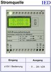 IED-Hutschienen-Module, IED-Messverstärker im Hutschienengehäuse HSM Referenzstromquelle