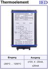 IED-Hutschienen-Module, IED-Messverstärker im Hutschienengehäuse HSM TE-Verstärker
