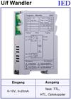 IED-Hutschienen-Module, IED-Messverstärker im Hutschienengehäuse HSM Spannung-Frequenz-Wandler