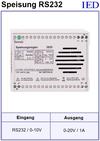 IED-Hutschienen-Module, IED-Messverstärker im Hutschienengehäuse HSM
