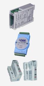 Industrietechnik Produkte - Hutschienenmodule, ADAM, Datenlogger