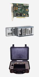 Messtechnik Produkte - Messkarten, Messsysteme, Messkoffer